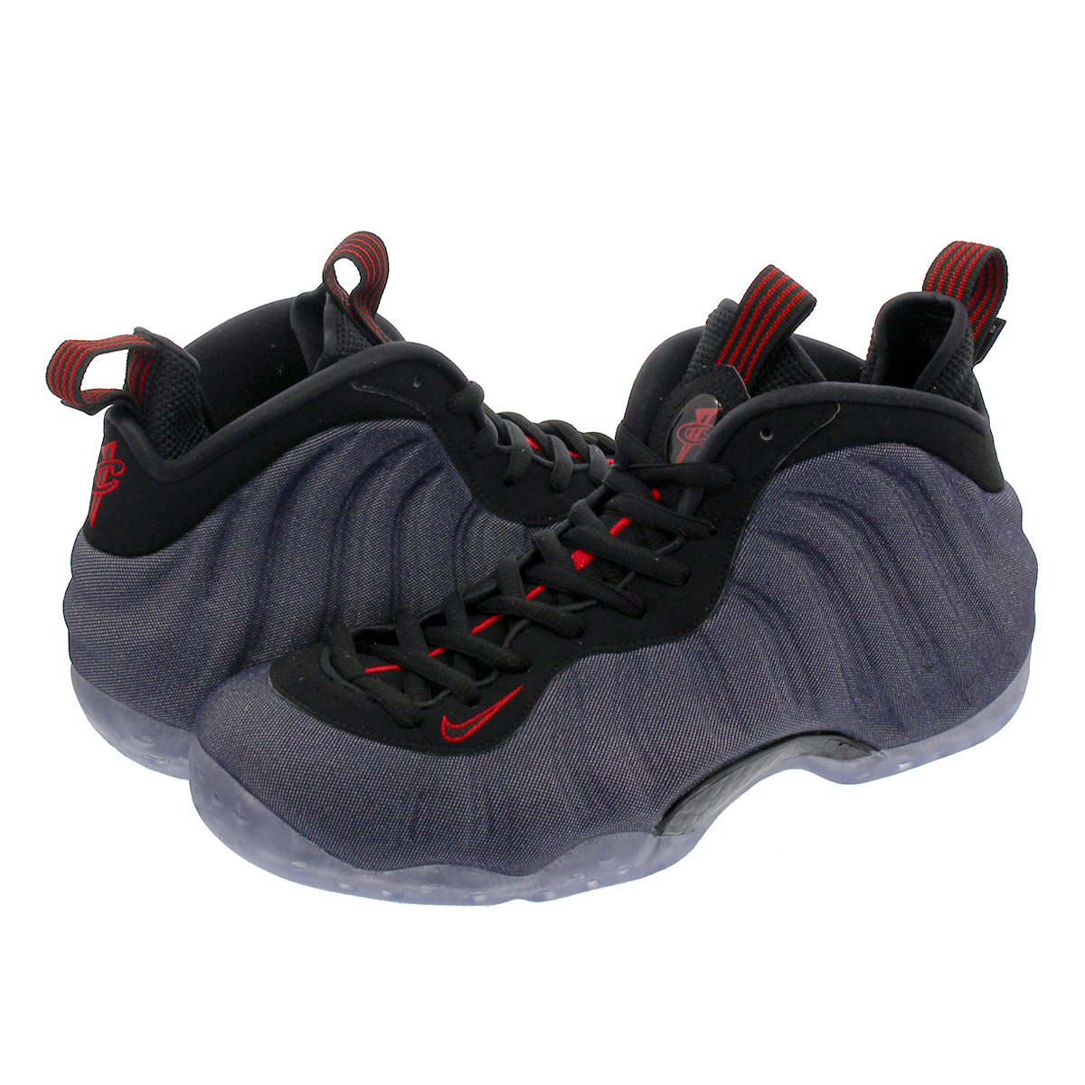 257c69ec5e23ea SELECT SHOP LOWTEX  NIKE AIR FOAMPOSITE ONE ナイキエアフォームポジットワン OBSIDIAN BLACK UNIVERSITY  RED 314