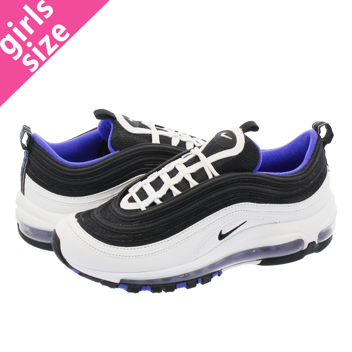 7540915d27 ... best price nike air max 97 gs kie ney amax 97 gs white black persian  violet
