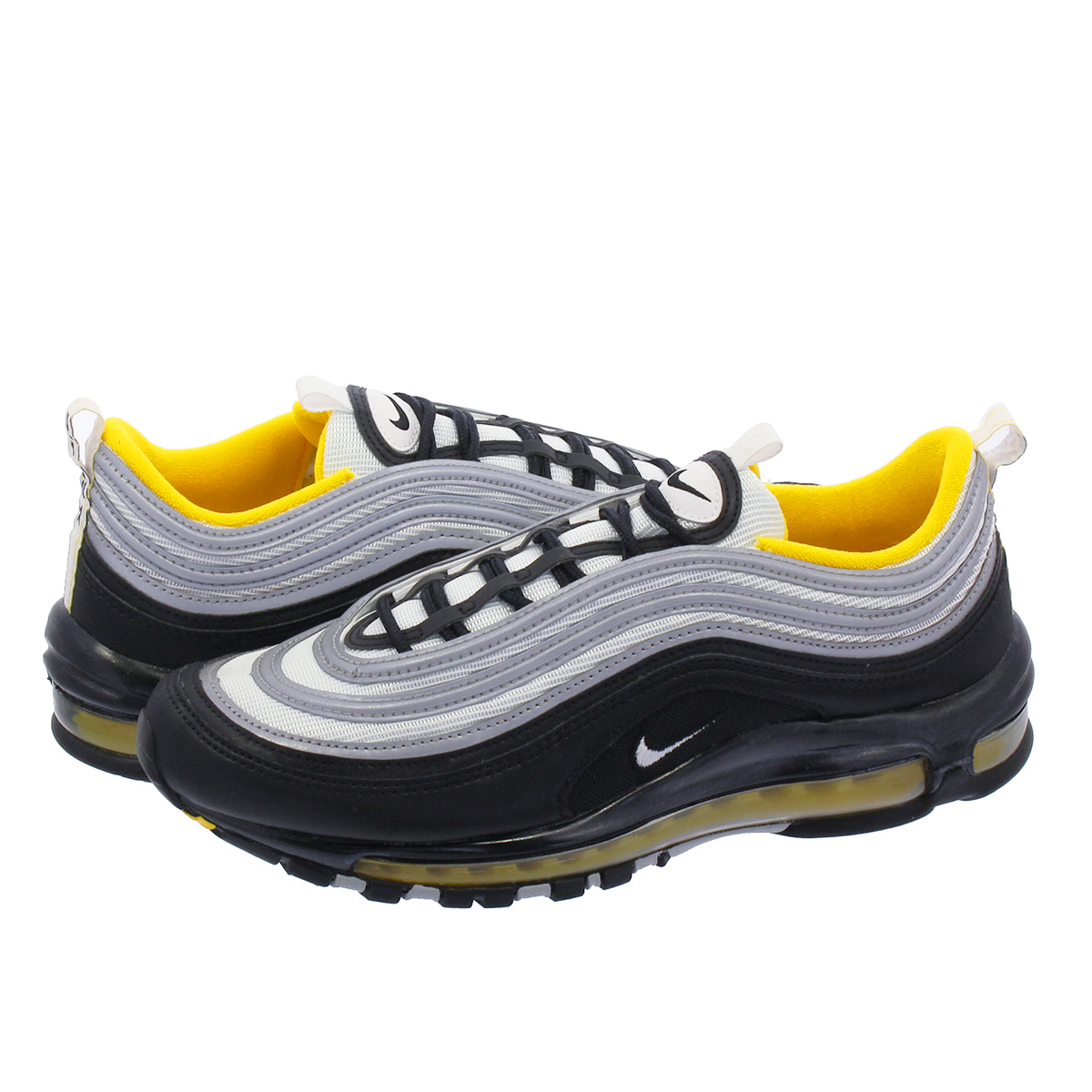 size 40 5fb51 91056 NIKE AIR MAX 97 나이키 에어 막스 97 BLACK WHITE AMARILLO 921826-008