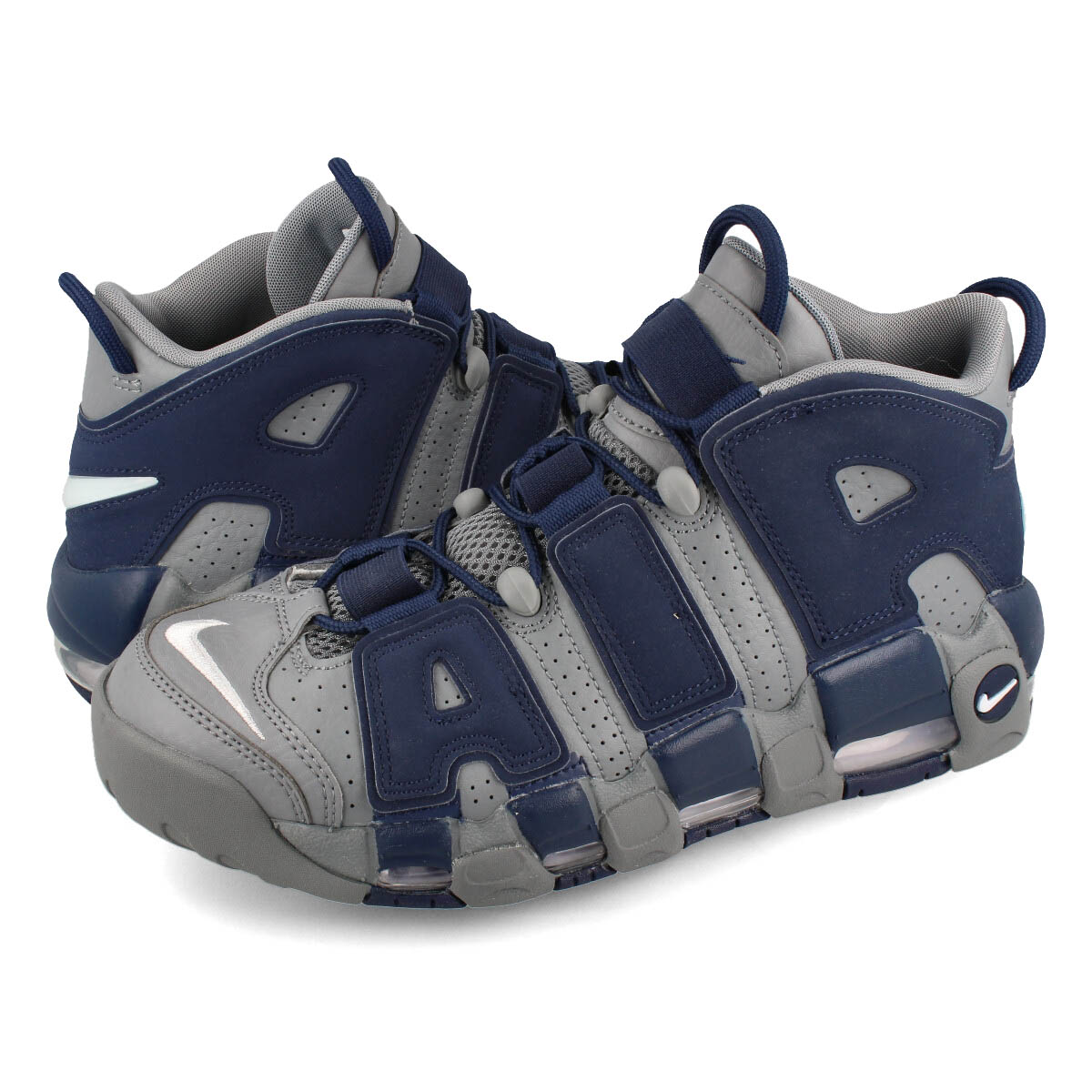 NIKE AIR MORE UPTEMPO 96 【HOYAS】 ナイキ モア アップ テンポ 96 COOL GREY/WHITE/MIDNIGHT NAVY 921948-003