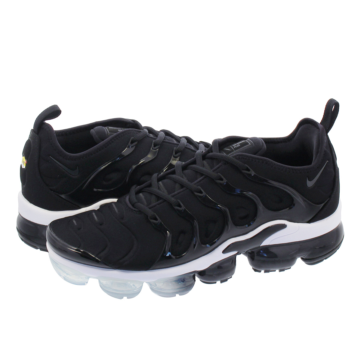 NIKE AIR VAPORMAX PLUS ナイキ ヴェイパー マックス プラス BLACK/ANTHRACITE/WHITE 924453-010
