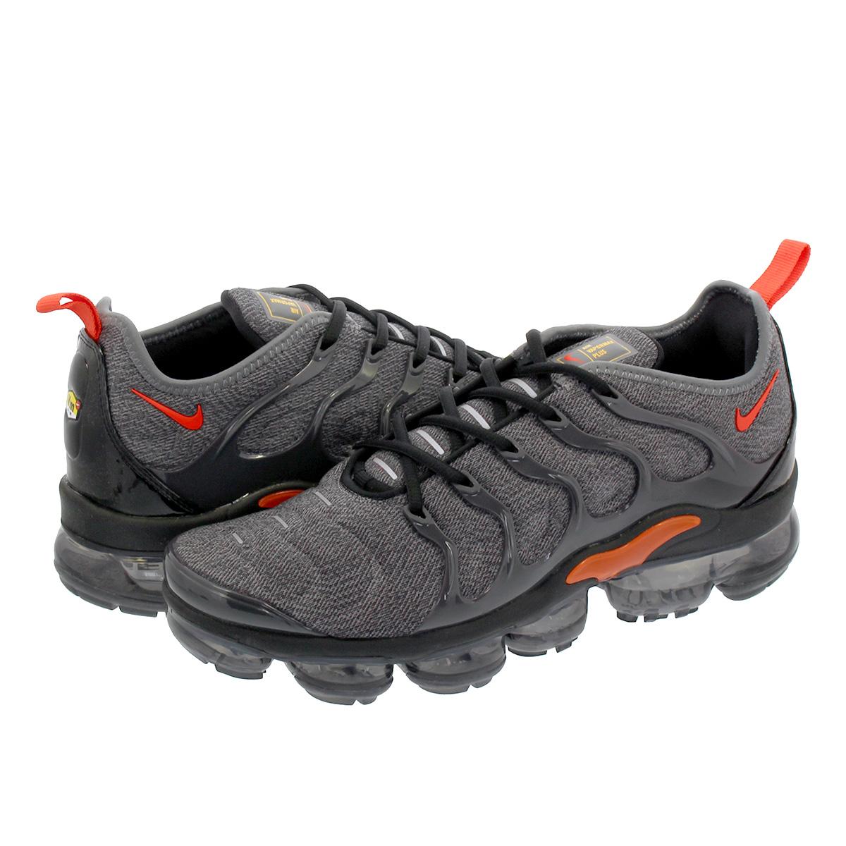 online store ebfbd e021f NIKE AIR VAPORMAX PLUS Nike vapor max plus GREY/TEAM ORANGE 924,453-012