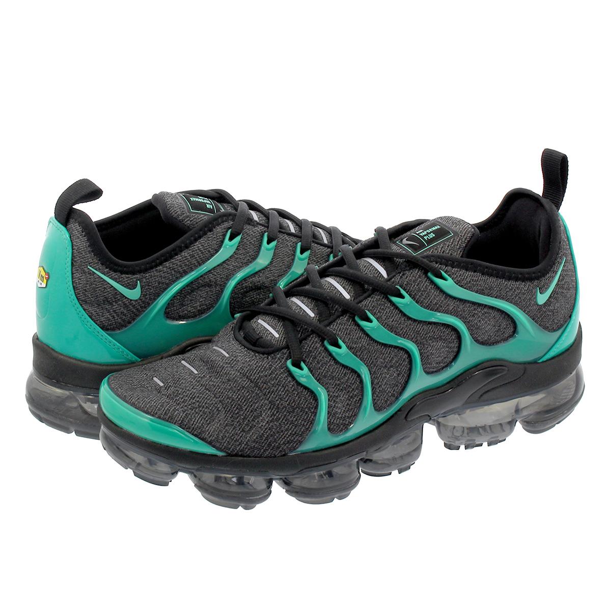 【お買い物マラソンSALE】 【ビッグ・スモールサイズ】 NIKE AIR VAPORMAX PLUS ナイキ ヴェイパー マックス プラス BLACK/GREEN 924453-013