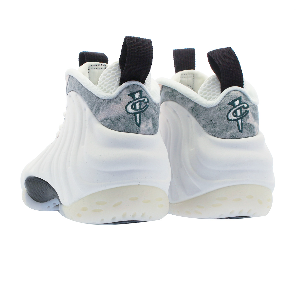 3d38998b3fc NIKE WMNS AIR FOAMPOSITE ONE ナイキウィメンズフォームポジットワン WHITE SUMMIT WHITE OIL GREY  aa3963-101