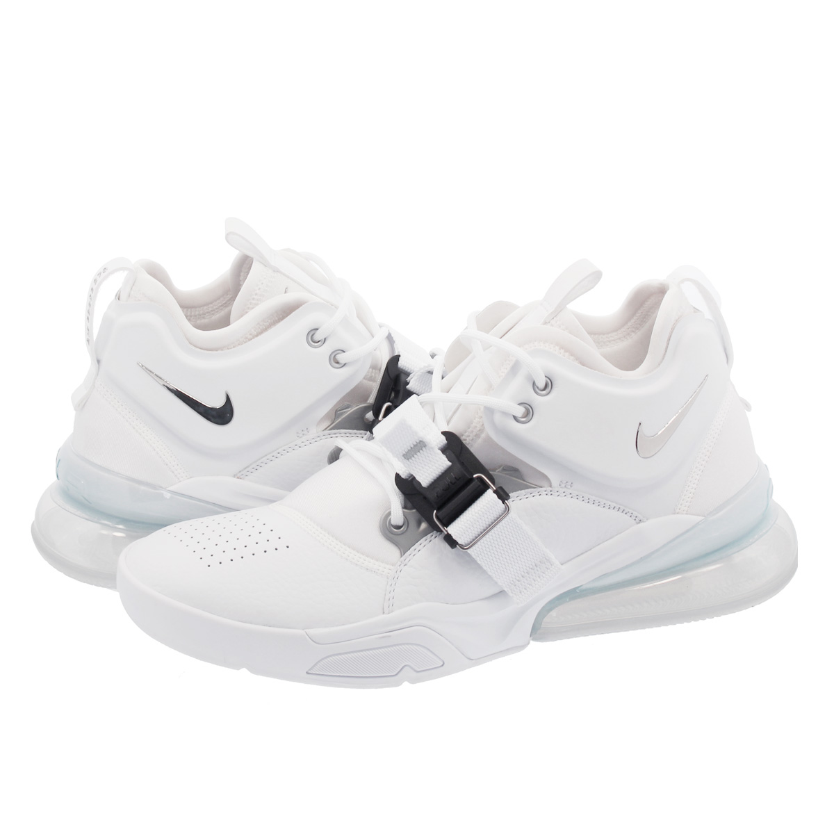 f12bebbdb79 SELECT SHOP LOWTEX  NIKE AIR FORCE 270 Nike air force 270 WHITE METALLIC  SILVER ah6772-100