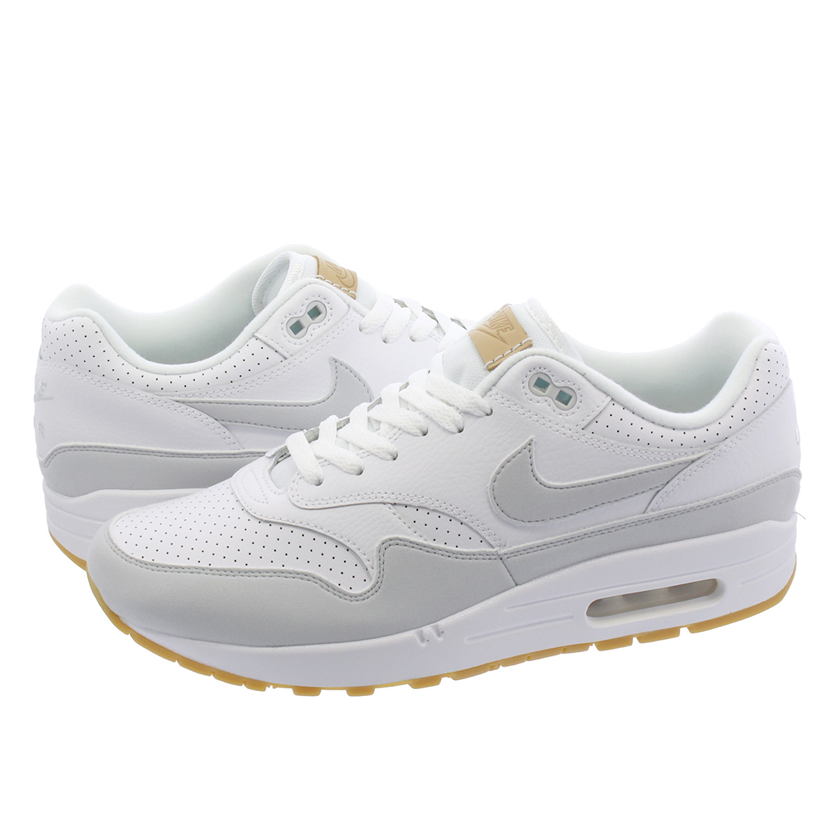 cheaper dd7e1 f1c18 NIKE AIR MAX 1 Kie Ney AMAX 1 WHITEGUM YELLOWPURE PLATINUMSILVER ah8145- 103