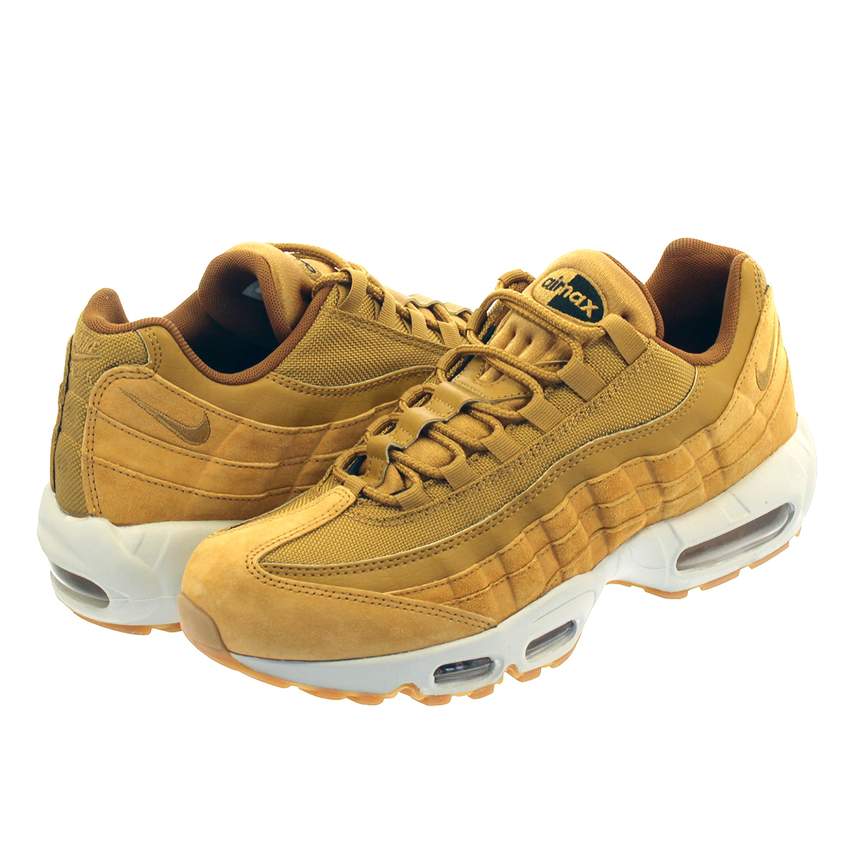 new arrival 50771 94044 NIKE AIR MAX 95 SE Kie Ney AMAX 95 SE WHEAT LIGHT BONE aj2018-700