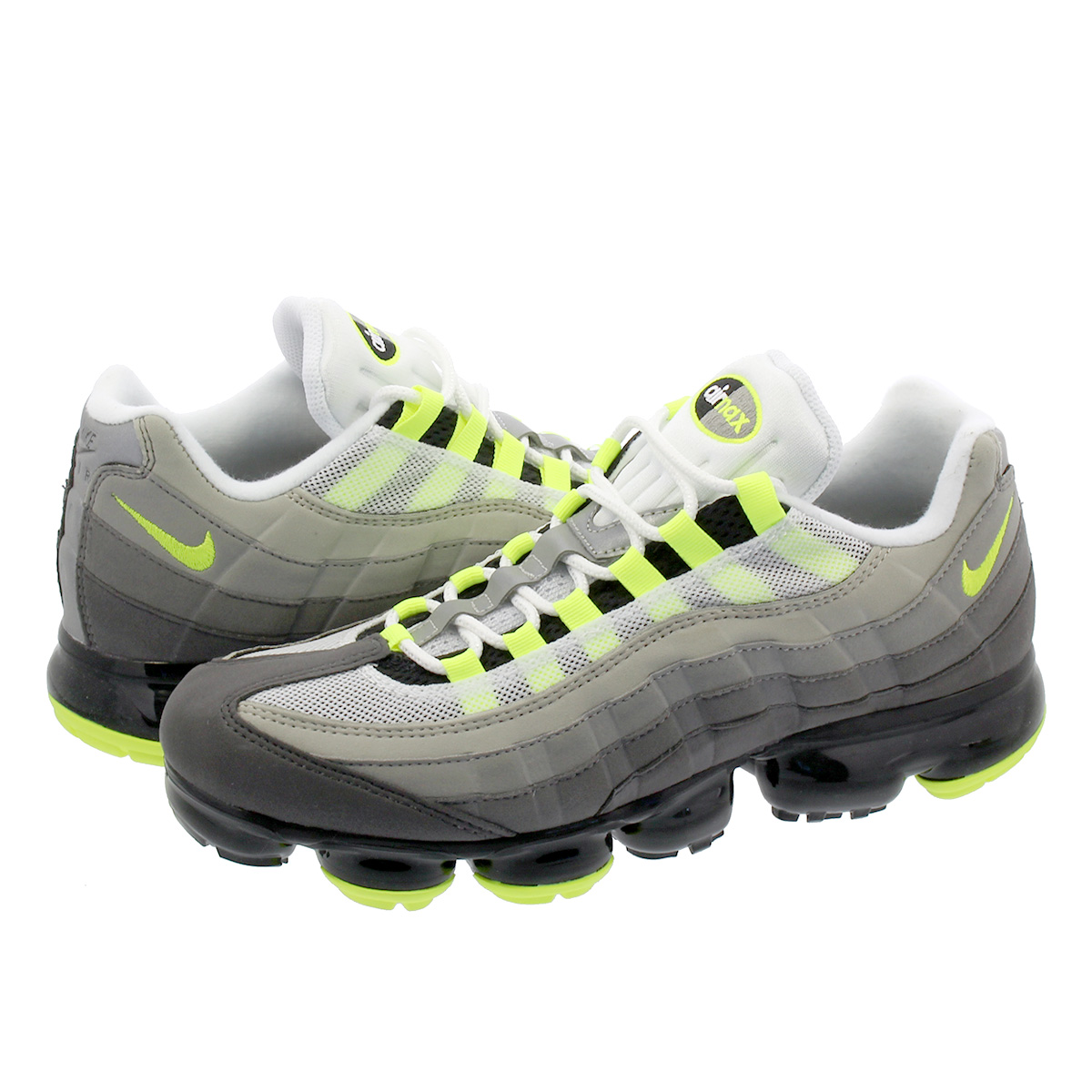 check out 5a379 49cde SELECT SHOP LOWTEX  NIKE AIR VAPORMAX 95 Nike air vapor max 95  BLACK VOLT MEDIUM ASH DARK PEWTER DUST GRANITE aj7292-001   Rakuten Global  Market