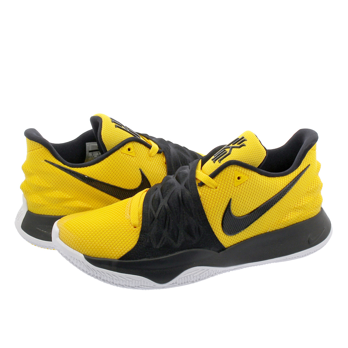 0170e492d0f ... clearance nike kyrie 4 low nike chi lee 4 low amarillo black ao8979 700  7f6a0 f8fb8
