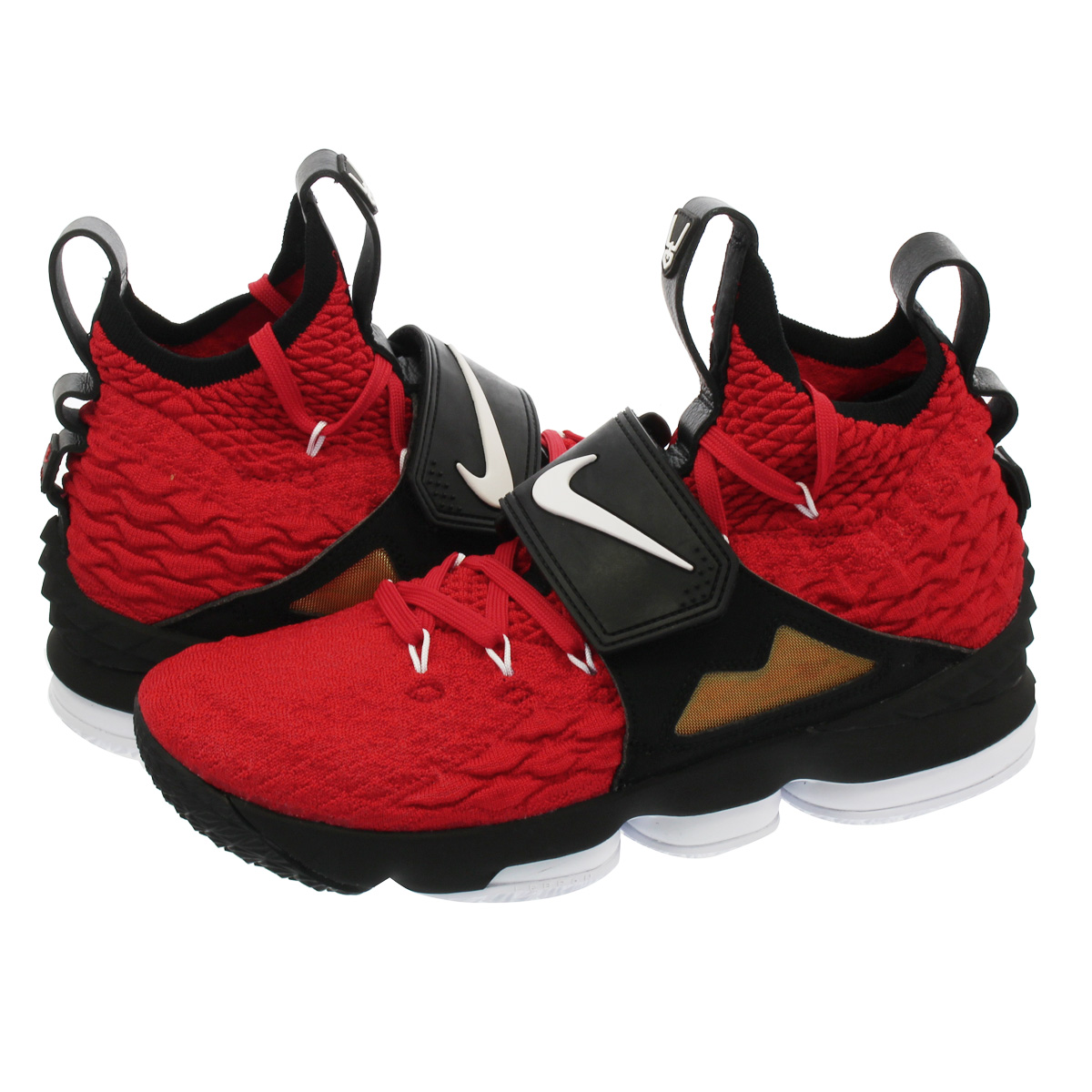 half off d6396 3e1cb NIKE LEBRON 15 Nike Revlon 15 UNIVERSITY RED/WHITE/BLACK ao9144-600