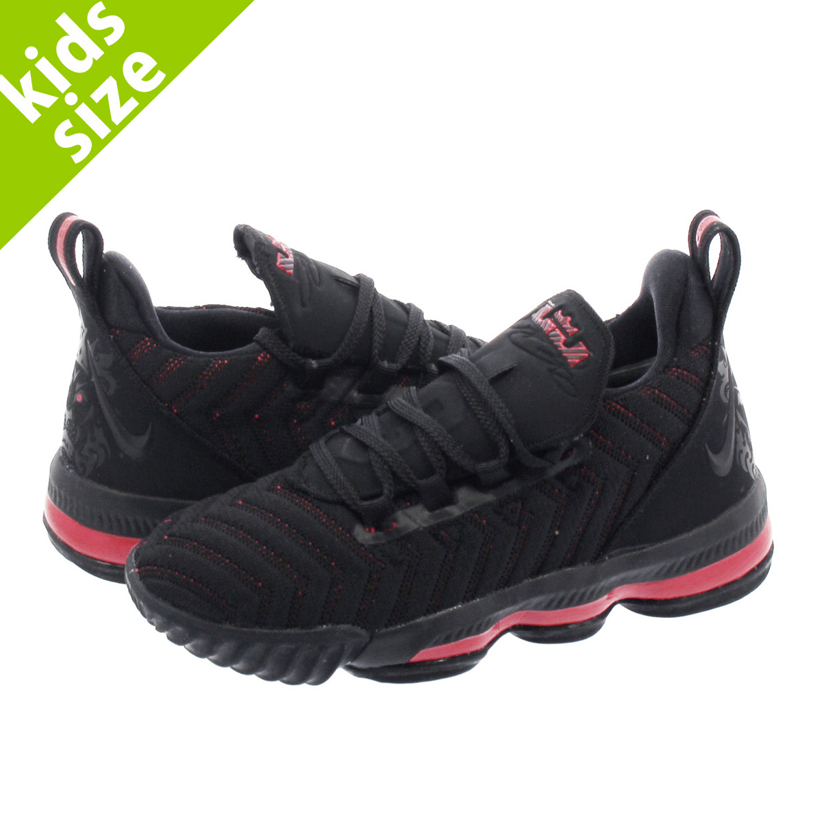 first rate e4144 50ea1 NIKE LEBRON 16 PS Nike Revlon 16 PS BLACK/UNIVERSITY RED aq2467-002