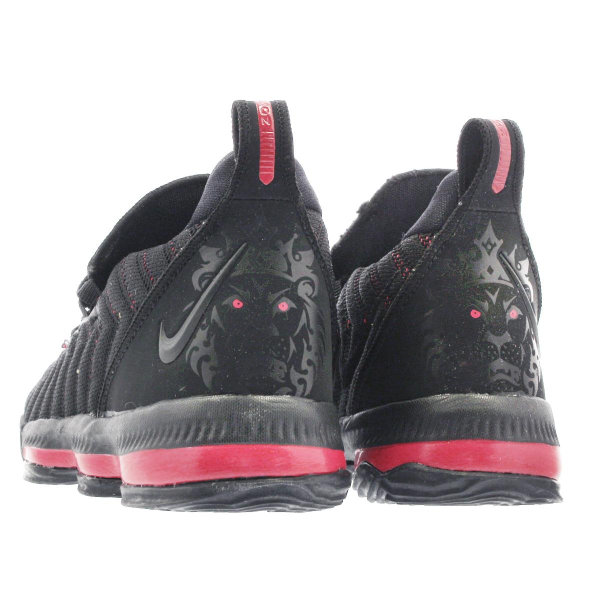 fdd2a5865e3 NIKE LEBRON 16 PS Nike Revlon 16 PS BLACK UNIVERSITY RED aq2467-002