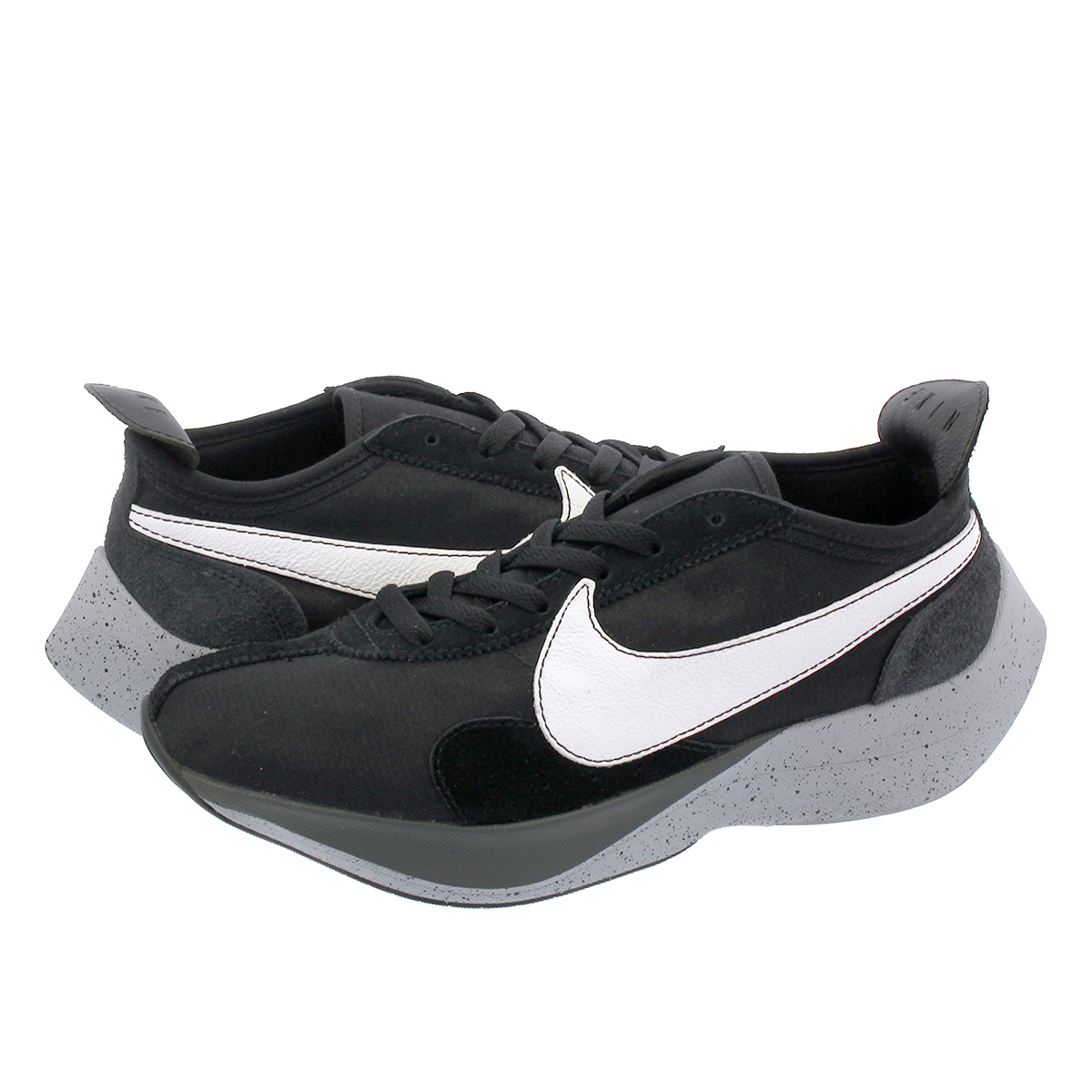 the latest 11269 75454 NIKE MOON RACER Nike moon racer BLACK WHITE WOLF GREY aq4121-001
