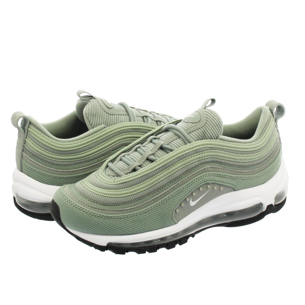fa1bbade39837e NIKE WMNS AIR MAX 97 SE Nike women Air Max 97 SE MICA GREEN WHITE aq4137-300