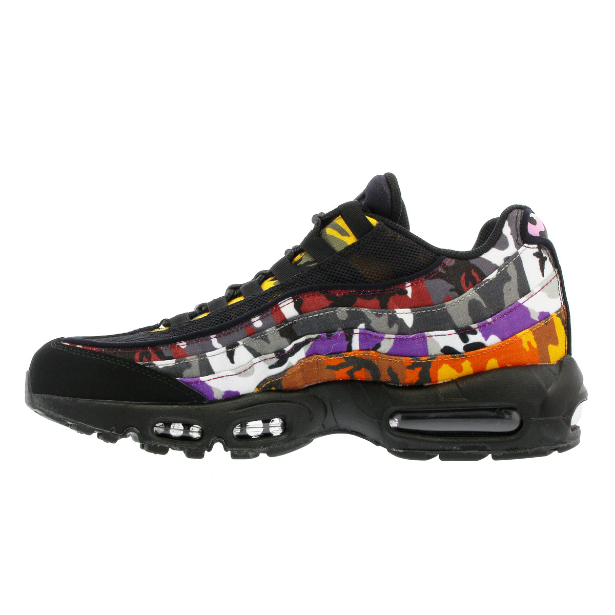 check out de087 7f8c7 NIKE AIR MAX 95 ERDL PARTY Kie Ney AMAX 95 BLACK/MULTI CAMO ar4473-001