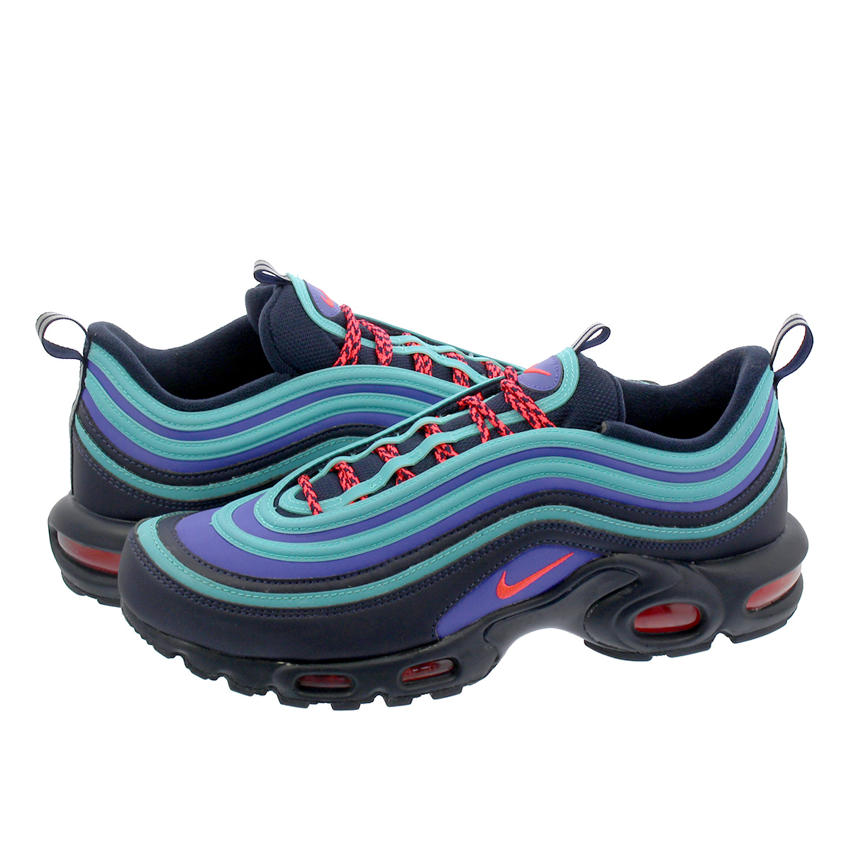 7e0f74a17d SELECT SHOP LOWTEX: NIKE AIR MAX PLUS 97 Kie Ney AMAX +97 OBSIDIAN/FLASH  CRIMSON av7936-400 | Rakuten Global Market