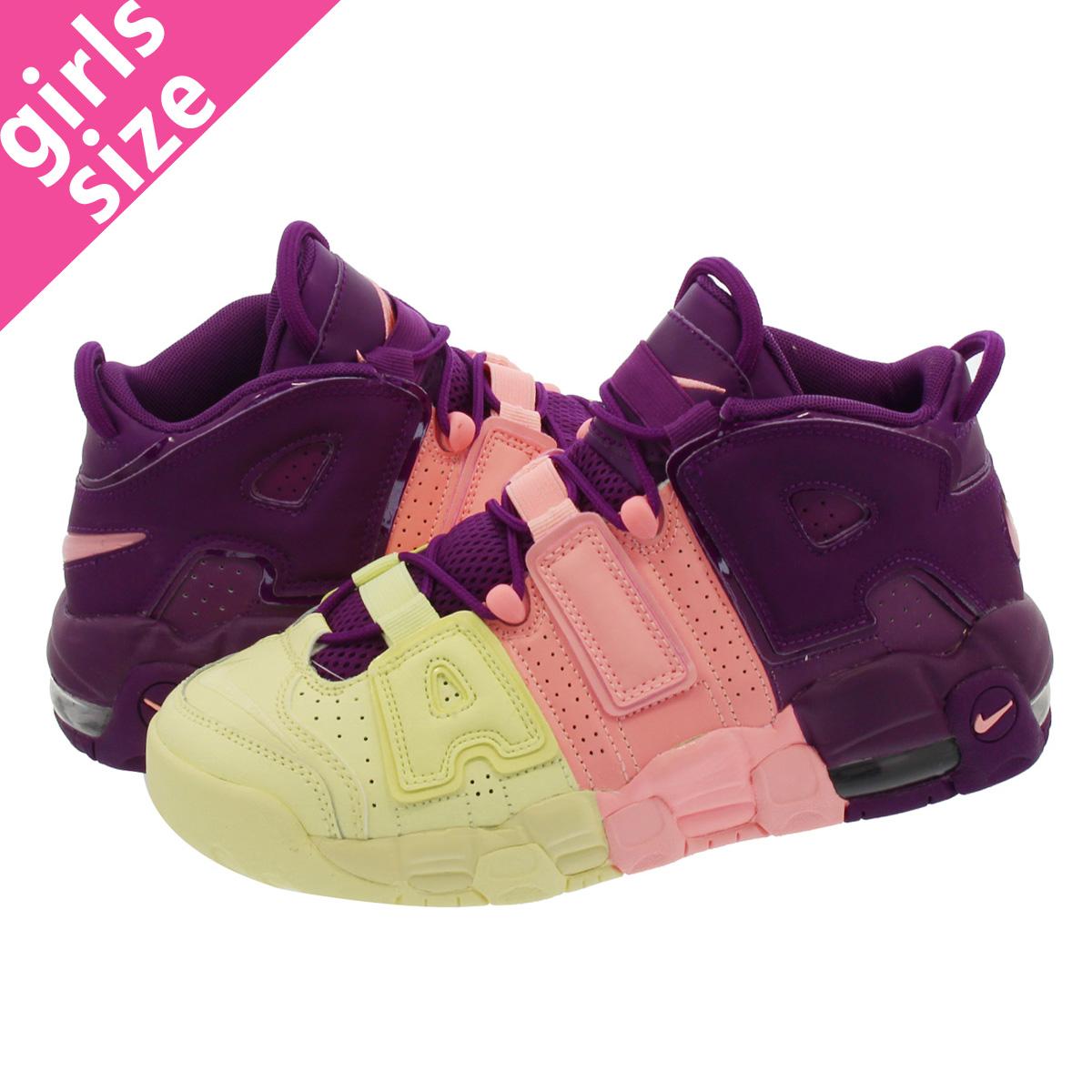 5138ad4e3de SELECT SHOP LOWTEX  NIKE AIR MORE UPTEMPO GS Nike more up tempo GS CITRON  PINK BRIGHT PURPLE NIGHT GRAPE