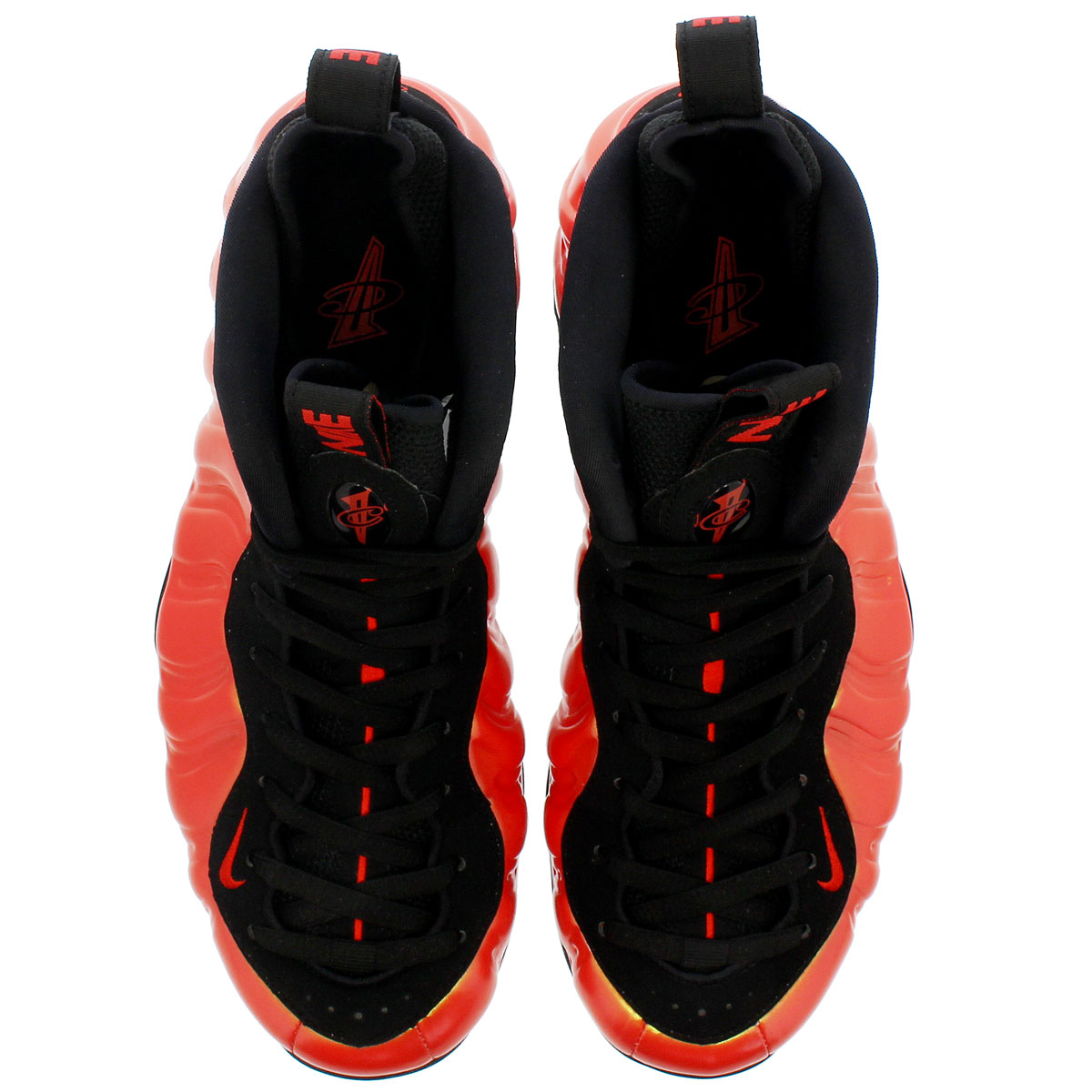 d65ac35b45d24 NIKE AIR FOAMPOSITE ONE ナイキエアフォームポジットワン HABANERO RED BLACK 314