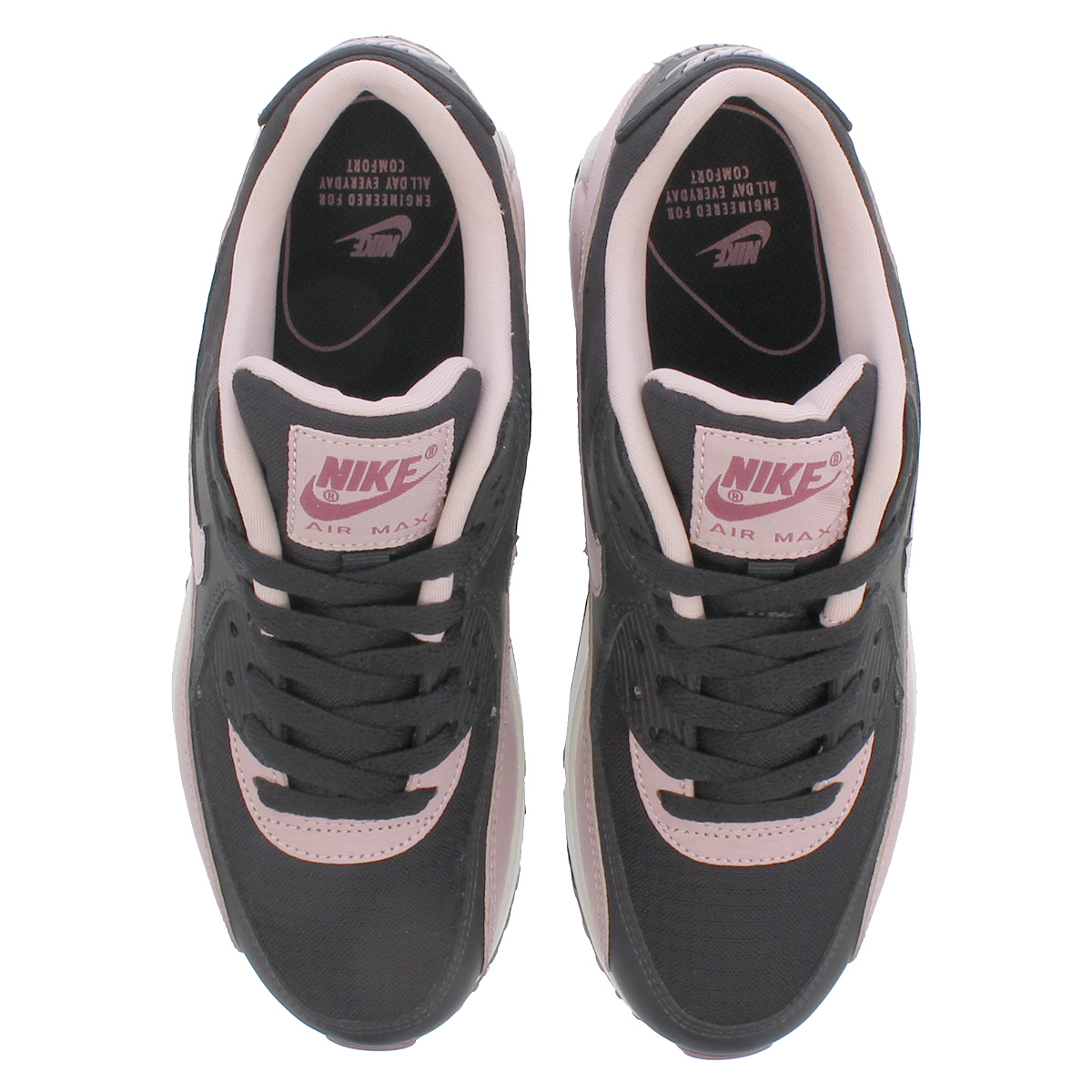 4665fdbdbb ... NIKE WMNS AIR MAX 90 Nike women Air Max 90 OIL GREY/PLUM CHALK/ ...