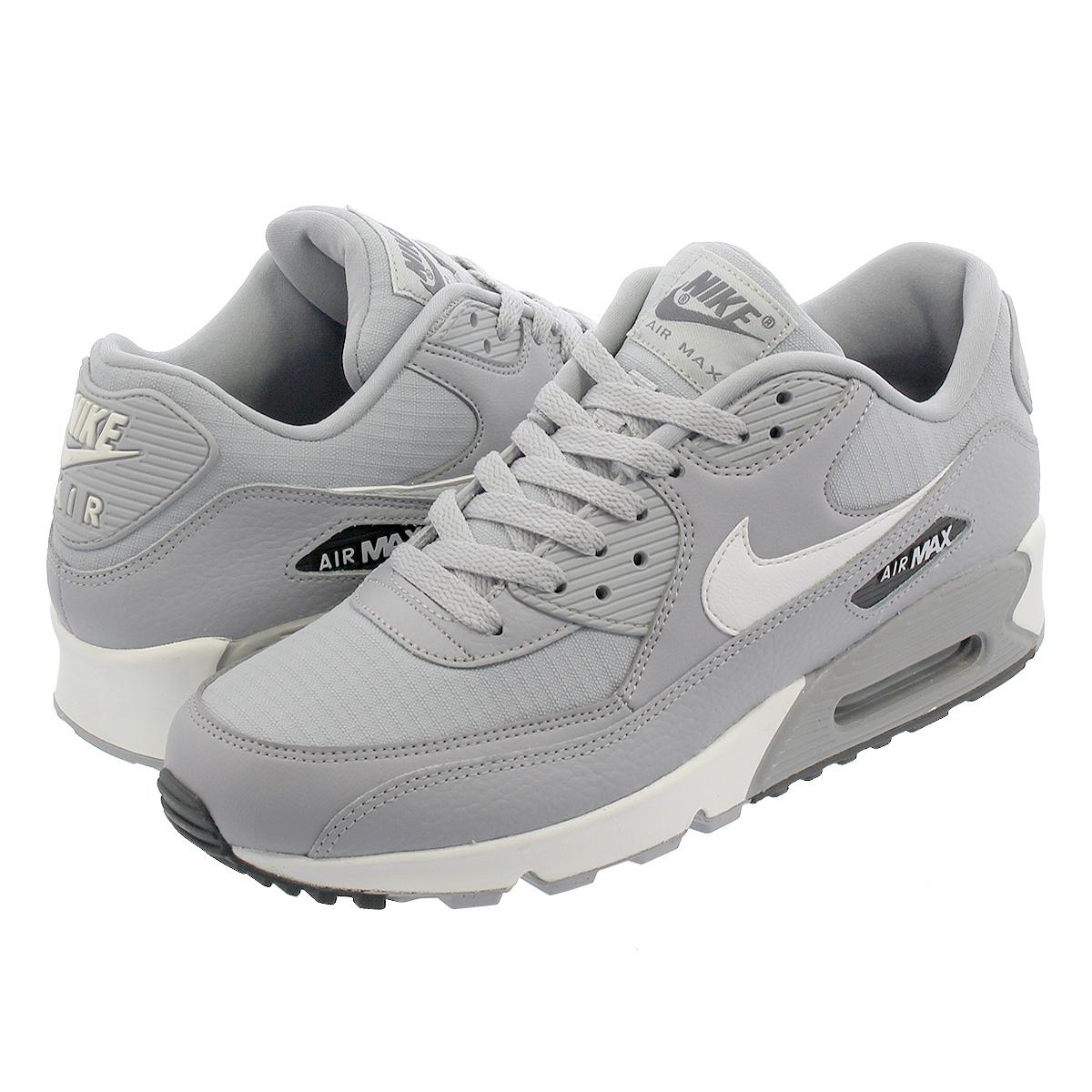 NIKE WMNS AIR MAX 90 Nike women Air Max 90 WOLF GREYSUMMIT WHITEDARK GREY 325,213 062