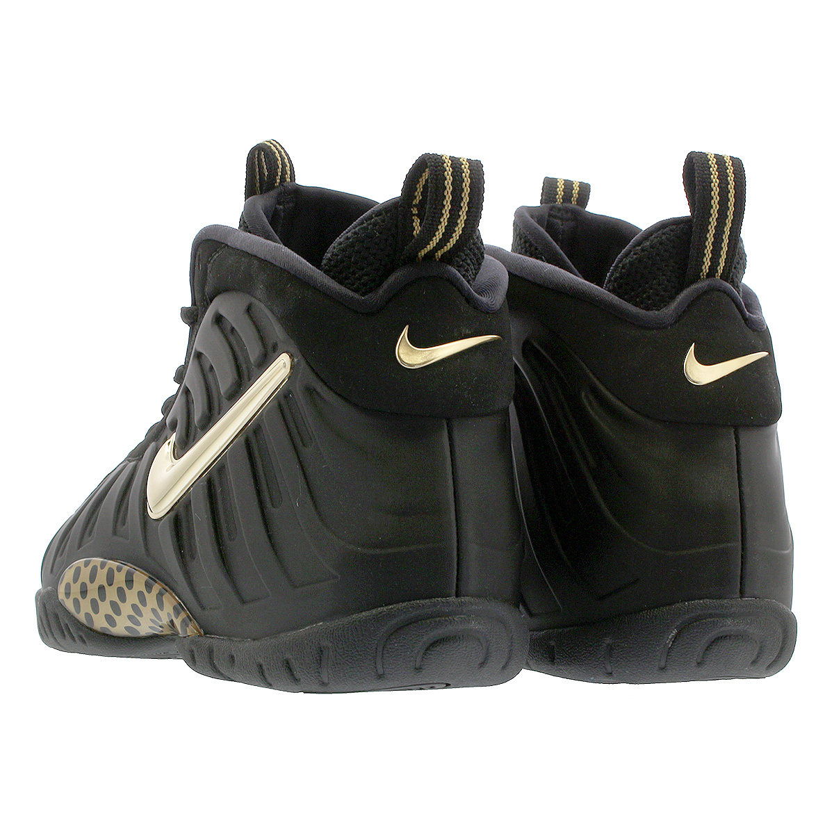 6fcbb6c171cd NIKE LITTLE POSITE PRO GS ナイキリトルポジットプロ GS BLACK METALLIC GOLD 644
