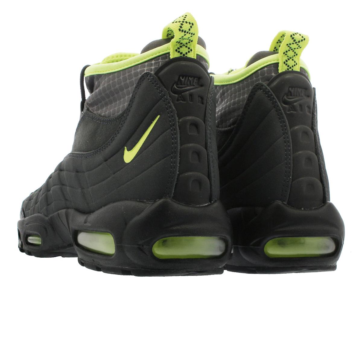 70768282c0 ... NIKE AIR MAX 95 SNEAKERBOOT Kie Ney AMAX 95 sneakers boots  ANTHRACITE/VOLT/DARK ...