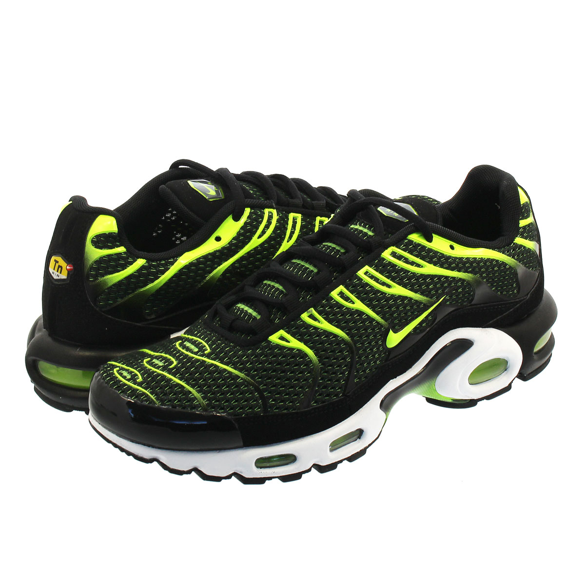 SELECT SHOP LOWTEX  NIKE AIR MAX PLUS Kie Ney AMAX plus BLACK VOLT ... 10996404e