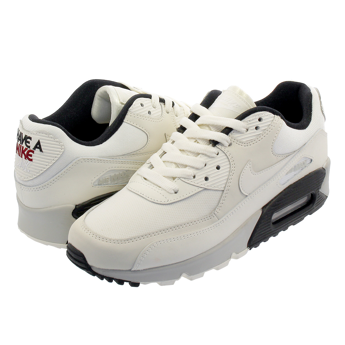 new products d7365 1a228 NIKE WMNS AIR MAX 90 SE Nike women Air Max 90 SE PALE IVORY/BLACK/TEAM  CRIMSON/PALE IVORY 881,105-102