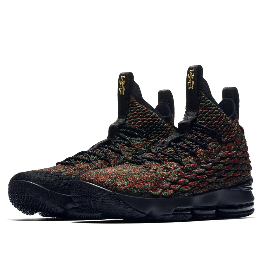 low cost b8541 c6c52 NIKE LEBRON 15 LMTD Nike Revlon 15 MULTI COLOR/BLACK 897,650-900