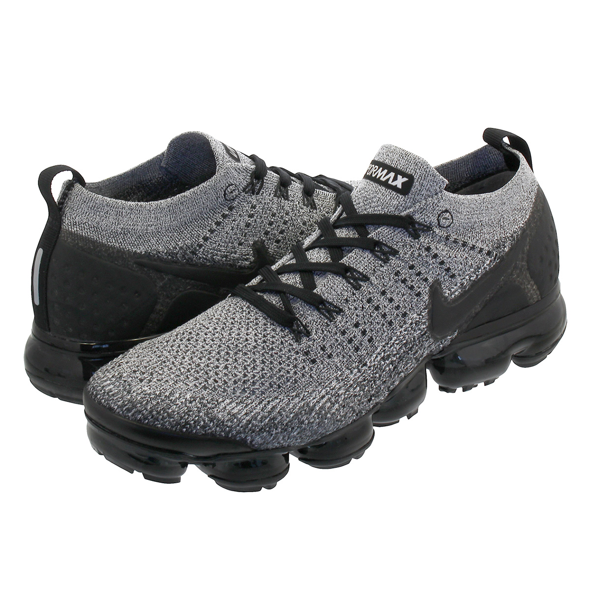 best website 68e77 dc884 NIKE AIR VAPORMAX FLYKNIT 2 Nike vapor max fried food knit 2  WHITE/BLACK/BLACK 942,842-107