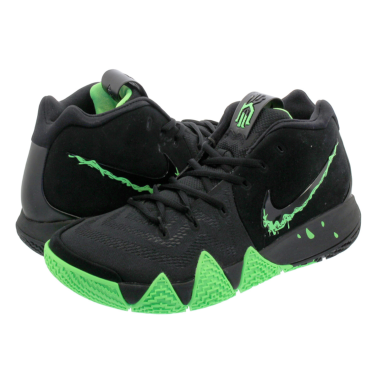 sale retailer a18eb fef4d NIKE KYRIE 4 EP Nike chi Lee 4 EP BLACK/RAGE GREEN 943,807-012