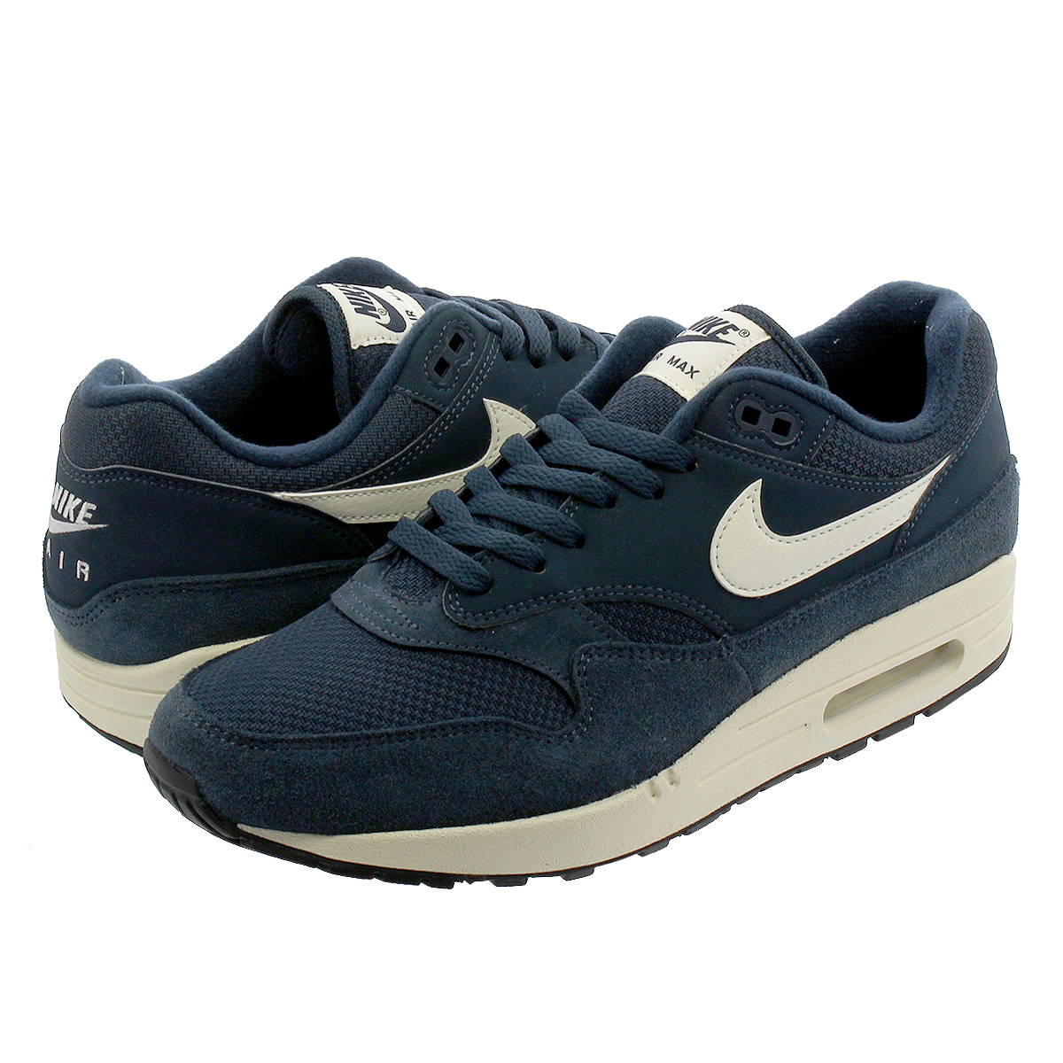 cheap for discount c1445 92340 NIKE AIR MAX 1 Kie Ney AMAX 1 ARMORY NAVY SAIL SAIL BLACK ...