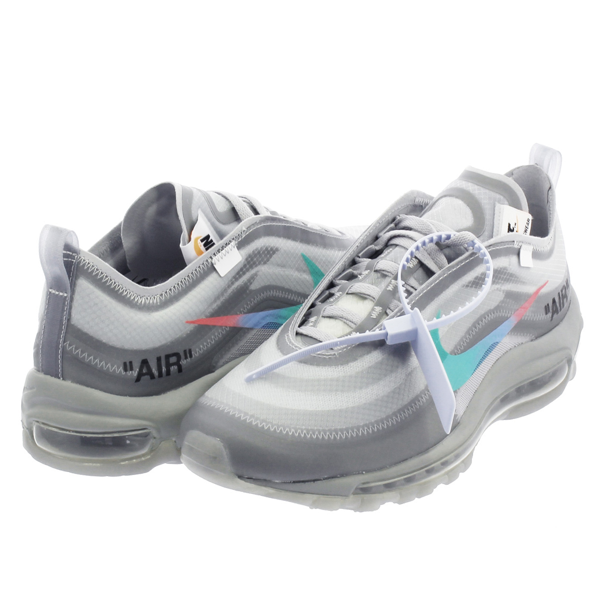 premium selection e73e4 825c2 NIKE AIR MAX 97 Kie Ney AMAX 97 OFF WHITE WOLF GREY WHITE MENTA aj4585-101