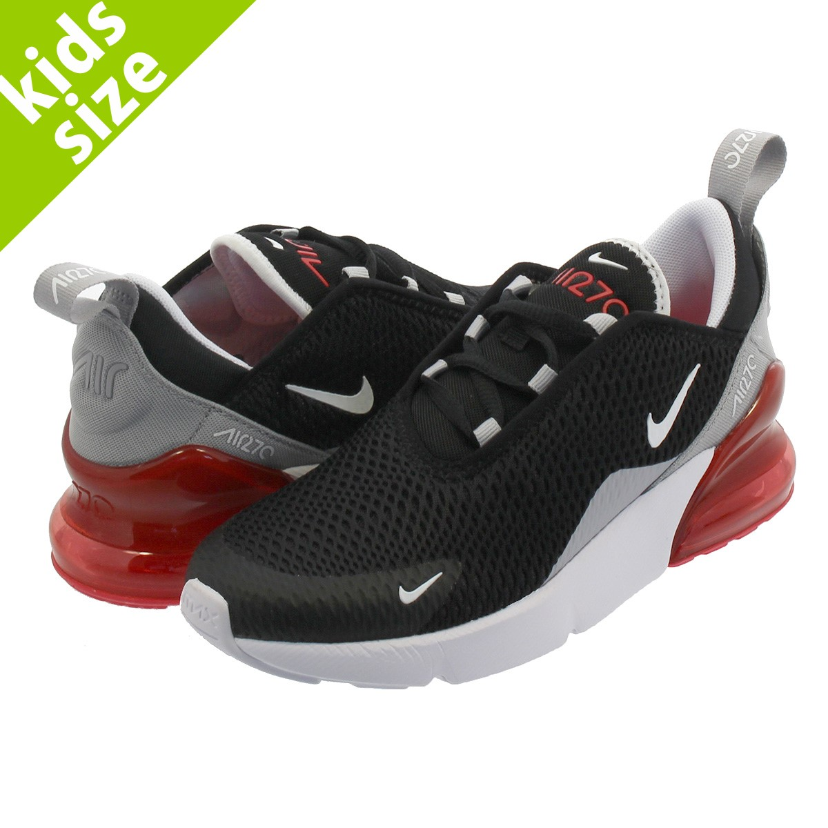 huge selection of 55a3d 30f72 NIKE AIR MAX 270 PS Kie Ney AMAX 270 PS BLACK WHITE EMBER GLOW WOLF GREY  ao2372-013