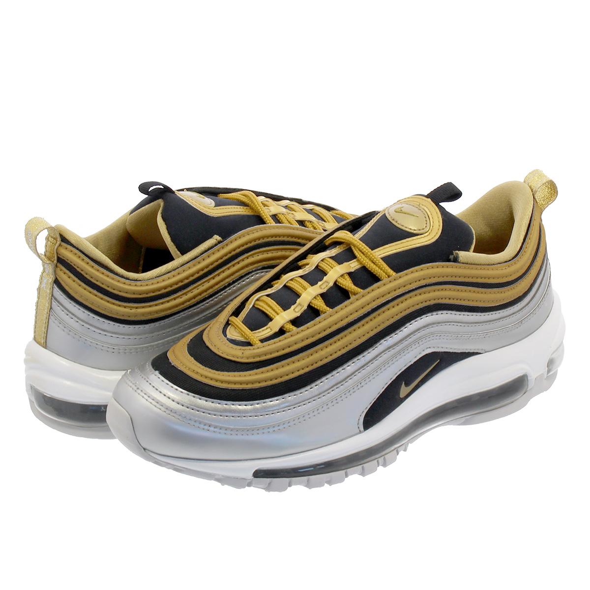 05ee1f46cb036c NIKE WMNS AIR MAX 97 SE Nike women Air Max 97 SE METALLIC SILVER METALLIC  GOLD aq4137-700