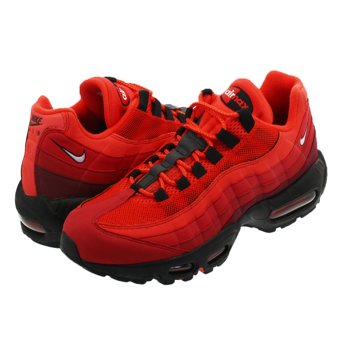 lowest price 73040 3a2e5 NIKE AIR MAX 95 OG Kie Ney AMAX 95 OG HABANERO RED/WHITE/UNIVERSITY RED/GYM  RED/TEAM RED/BLACK at2865-600