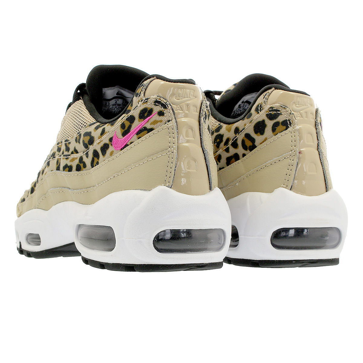 new concept 9f6e4 42000 NIKE WMNS AIR MAX 95 PRM Nike women Air Max 95 premium DESERT ORE LASER  FUCHSIA BLACK WHEAT cd0180-200