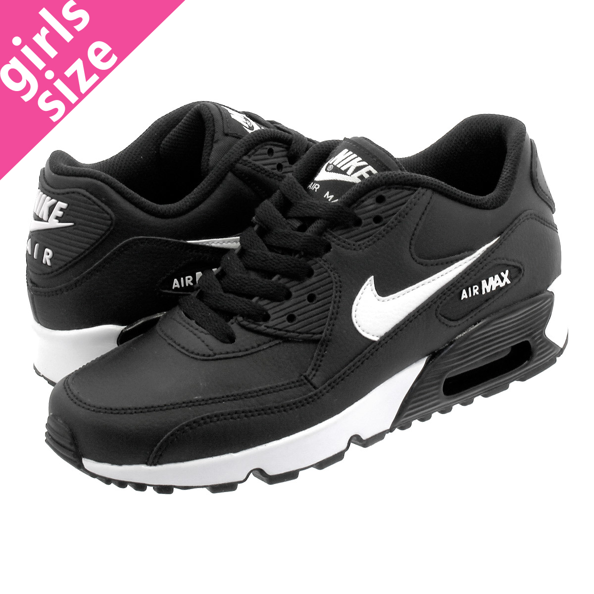 894e5bac0 Unisex Shoes Nike Air Max 90 Leather GS   833376 602 Elemental Rose Big Kids  SZ ...