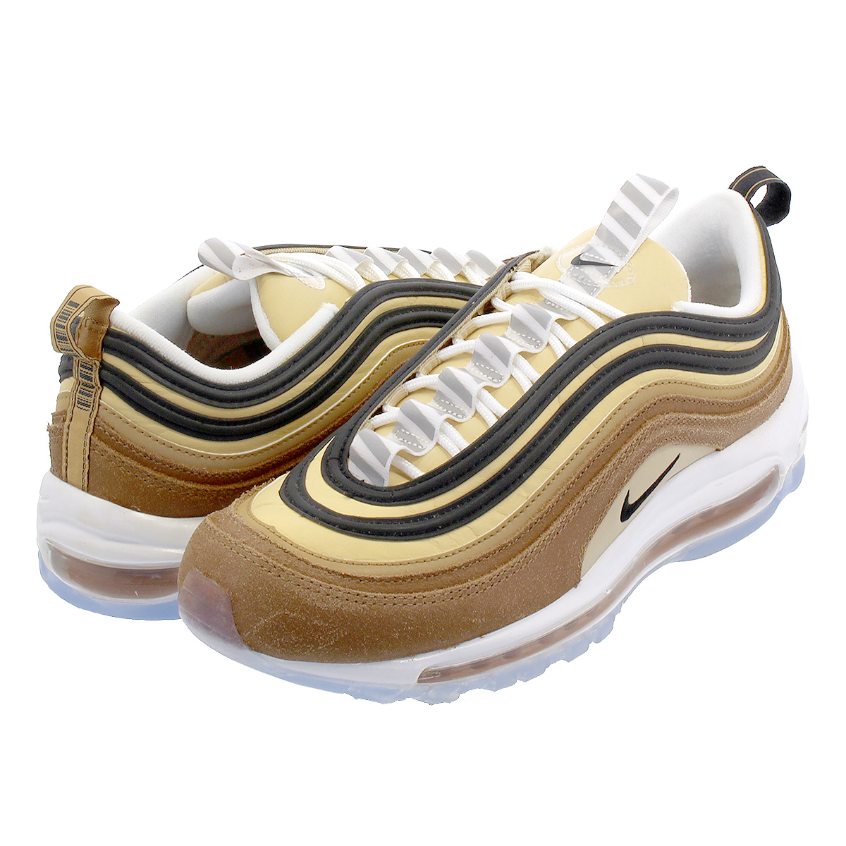 95370abf64 NIKE AIR MAX 97 Kie Ney AMAX 97 ALE BROWN/BLACK/ELEMENTAL GOLD 921,826 ...