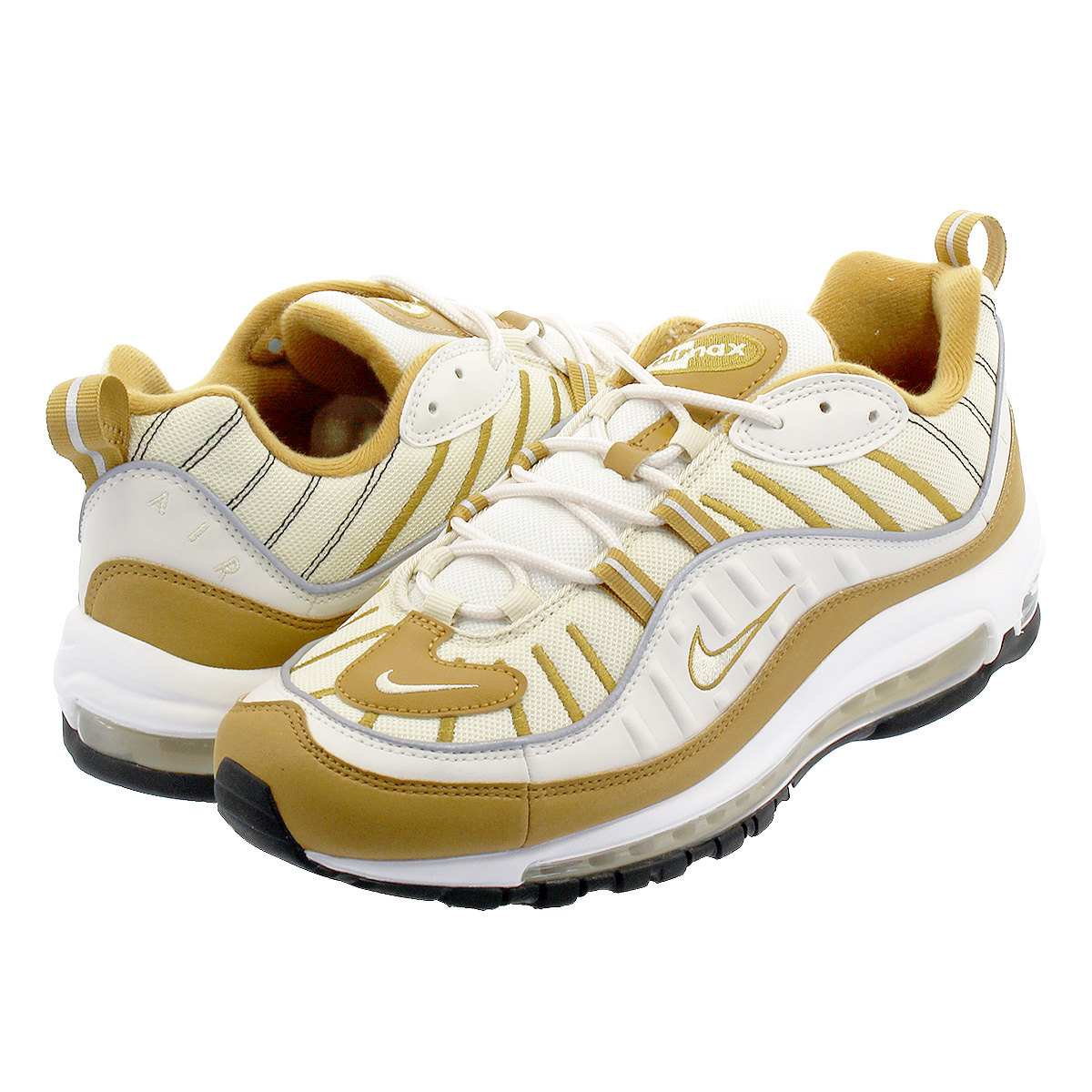 NIKE WMNS AIR MAX 98 Nike women Air Max 98 PHANTOMBEACHWHEATREFLECT SILVER ah6799 003
