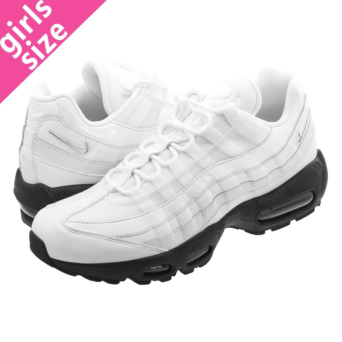 NIKE WMNS AIR MAX 95 SE Nike women Air Max 95 SE SUMMIT WHITESUMMIT WHITEBLACK aq4138 102