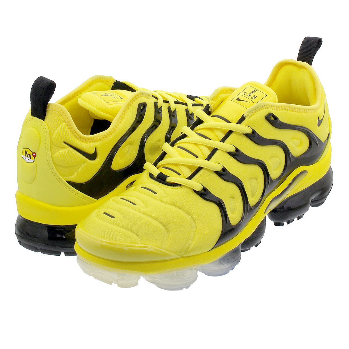 innovative design 45fc1 6e301 NIKE AIR VAPORMAX PLUS Nike vapor max plus YELLOW/BLACK bv6079-700