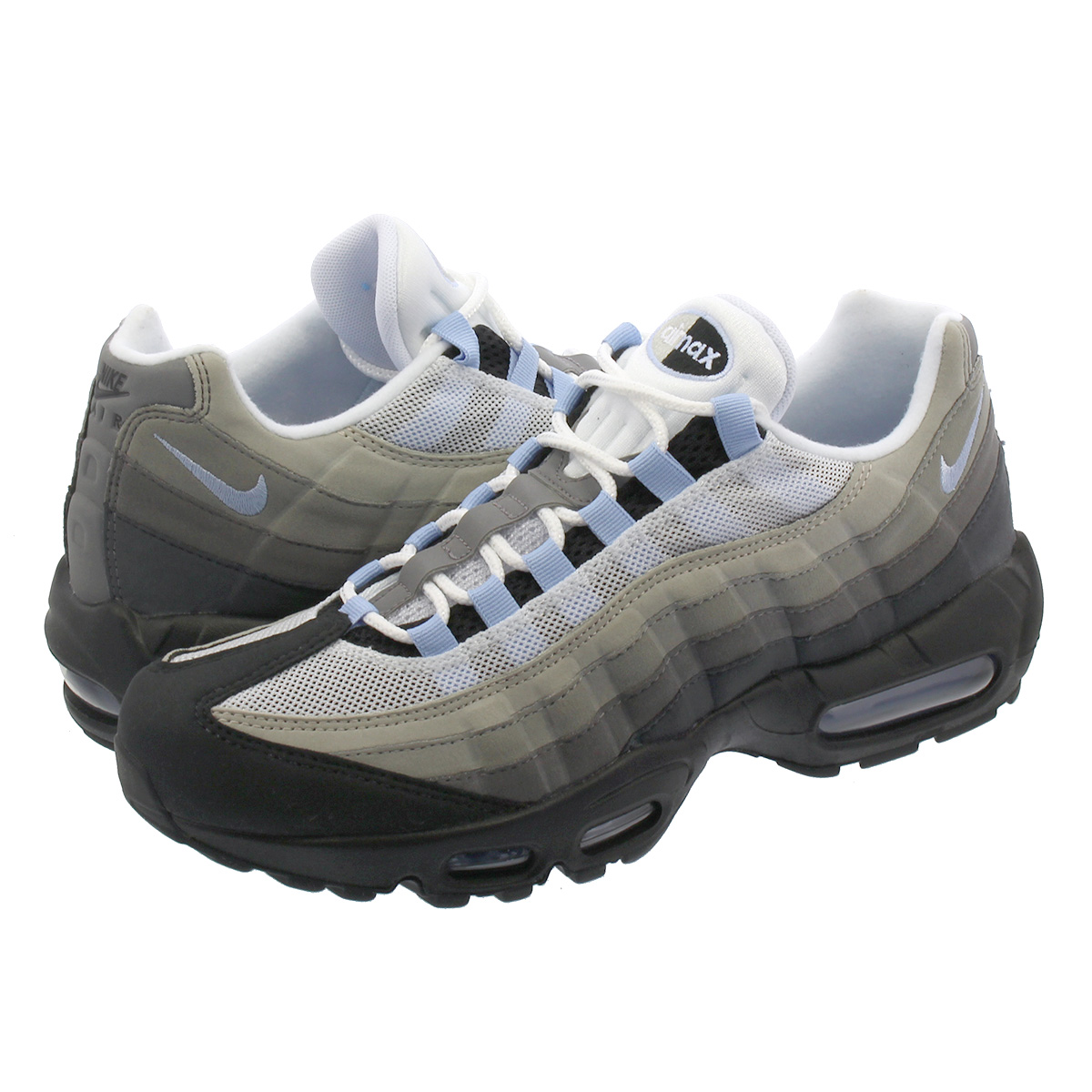 c1f36afb2 NIKE AIR MAX 95 Kie Ney AMAX 95 BLACK/ALUMINUM/ANTHRACITE cd1529-001 ...