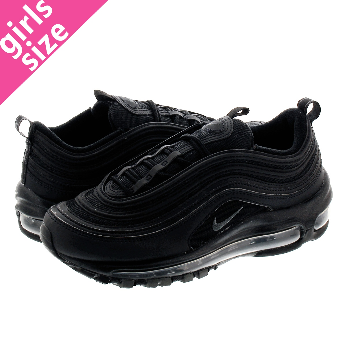 NIKE WMNS AIR MAX 97 BLACKBLACKDARK GREY NIKE WMNS AIR MAX 97 Nike women Air Max 97 BLACKBLACKDARK GREY 921,733 001