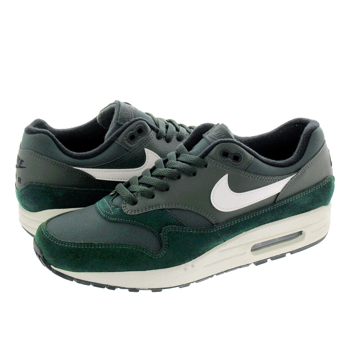 NIKE AIR MAX 1 ナイキ エア マックス 1 OUTDOOR GREEN/SAIL/BLACK ah8145-303