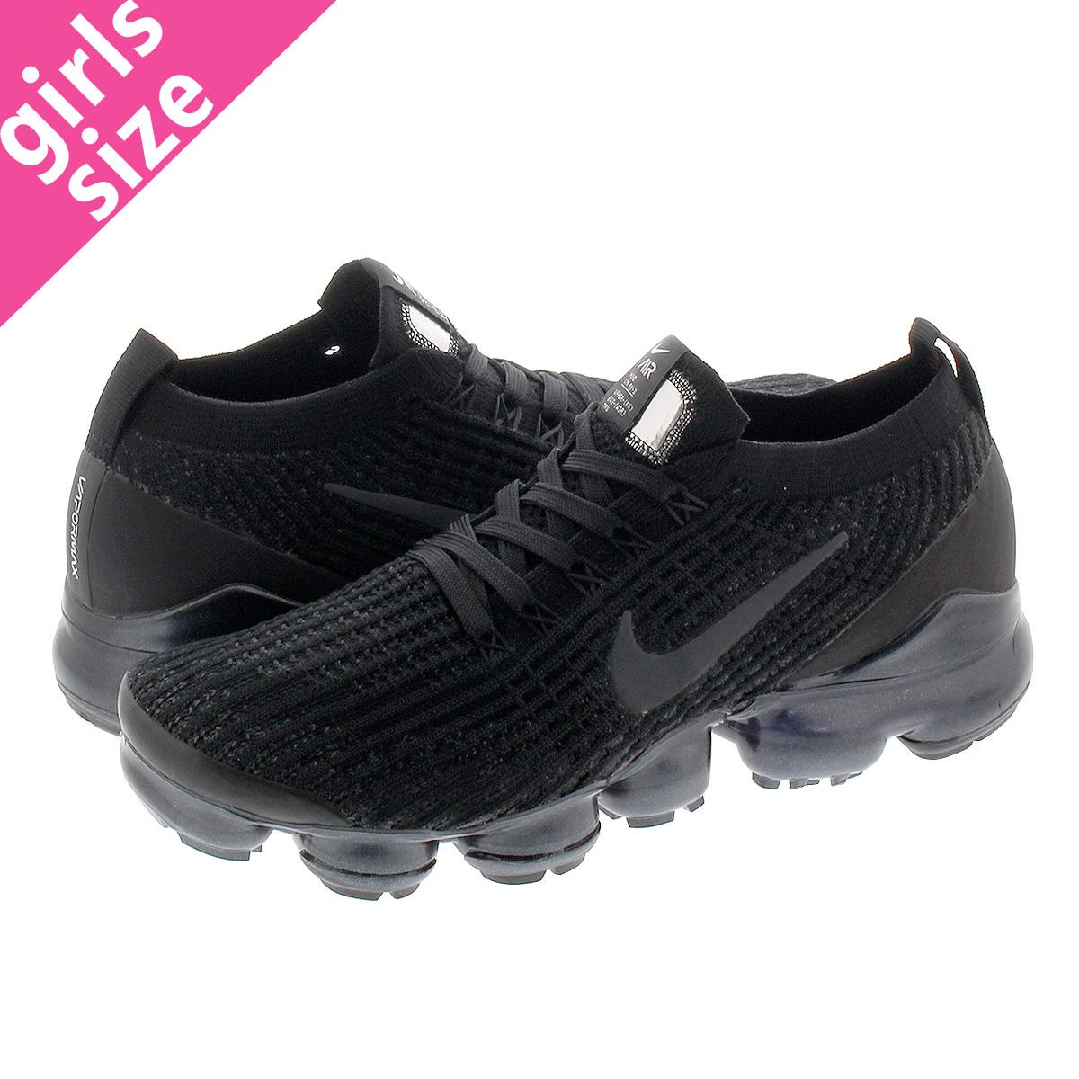wholesale dealer 41f54 099ee NIKE WMNS AIR VAPORMAX FLYKNIT 3 Nike women vapor max fried food knit 3  BLACK/ANTHRACITE/WHITE aj6910-002