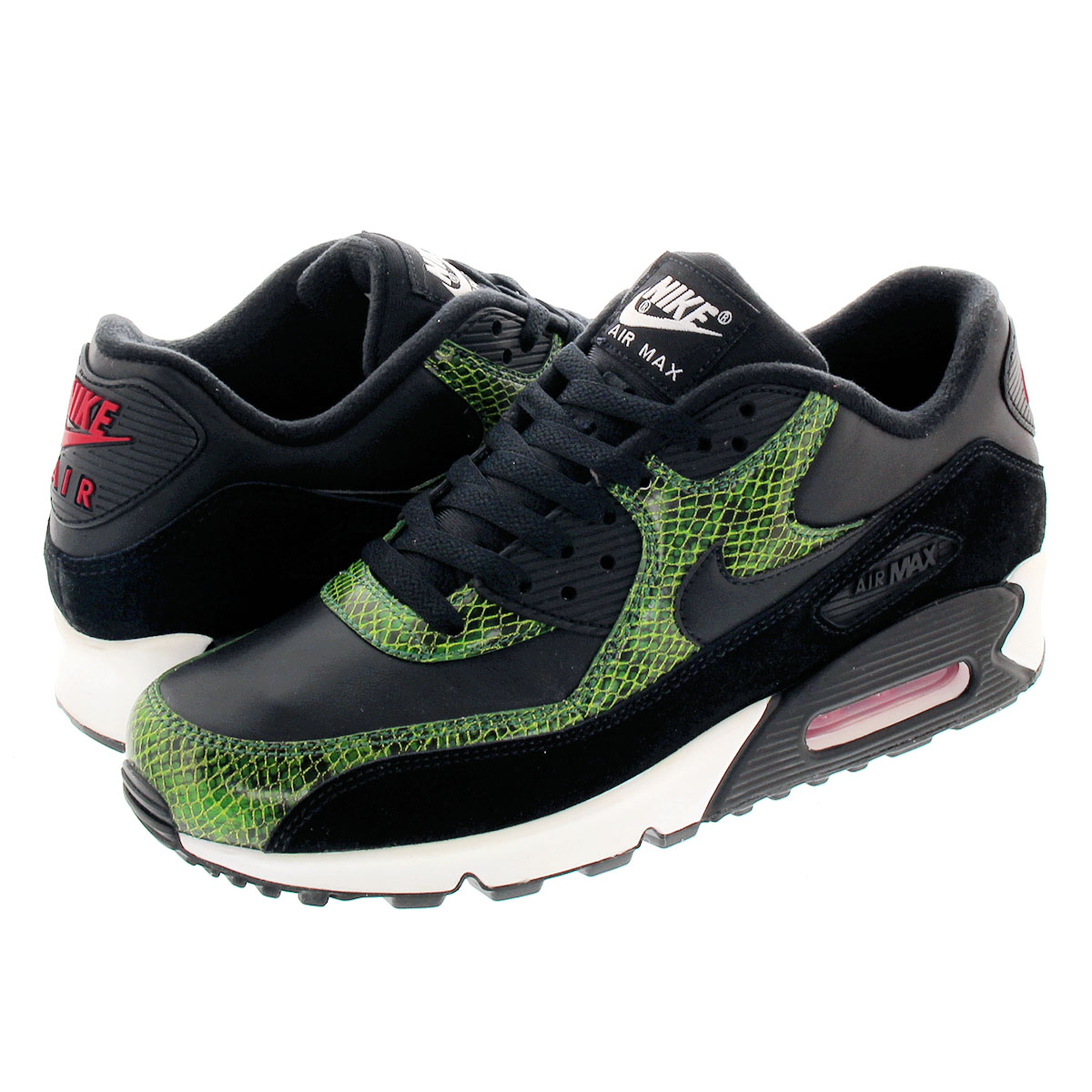 Nike Air Max 90 QS 'New Python' BlackBlack Cyber Fir CD0916 001