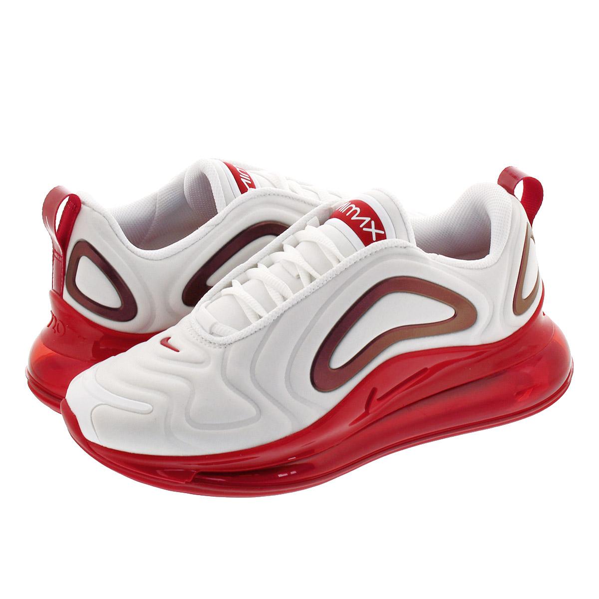 nike air max 720 white gym red