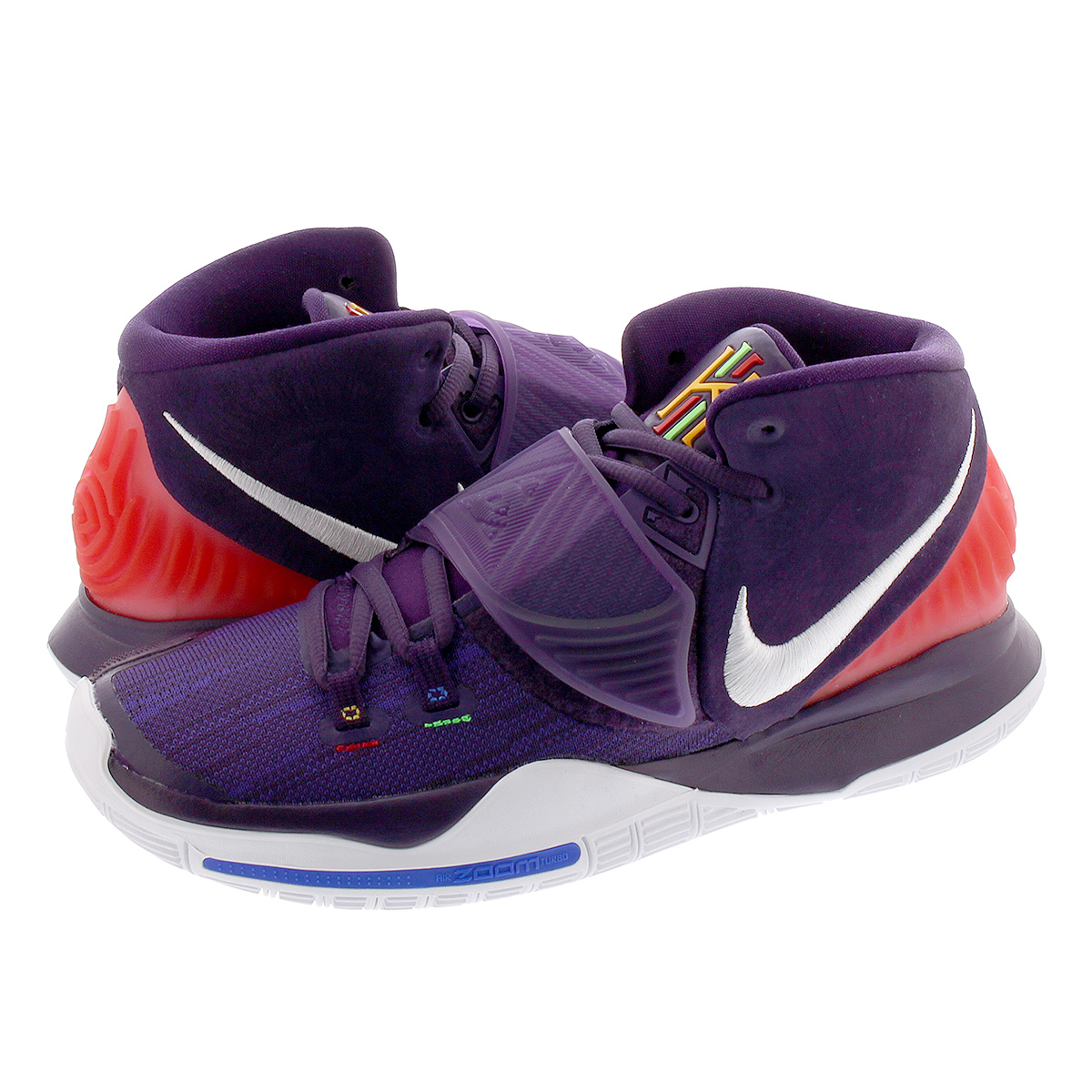 NIKE KYRIE 6 ナイキ カイリー 6 GRAND PURPLE/WHITE bq4630-500