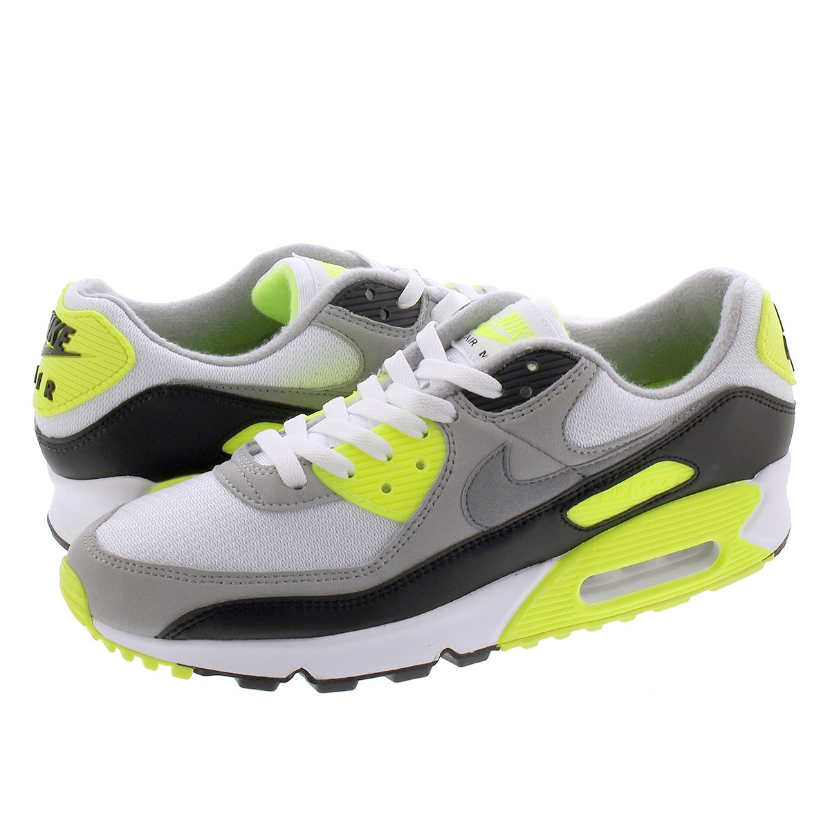 NIKE AIR MAX 90 【30TH ANNIVERSARY】 ナイキ エア マックス 90 WHITE/PARTICLE GREY/VOLT cd0881-103